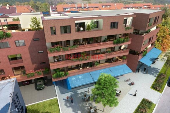 Nový byt 2+kk o ploše 44,2 m² + balkon 21,7 m² na Praze 6 - Liboc v blízkosti parku Divoká Šárka.